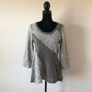 Anthropologie Angel of the North Leta sweater (L)